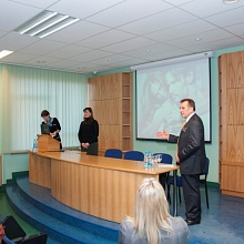 Family doctors association meeting in Latvia 2013